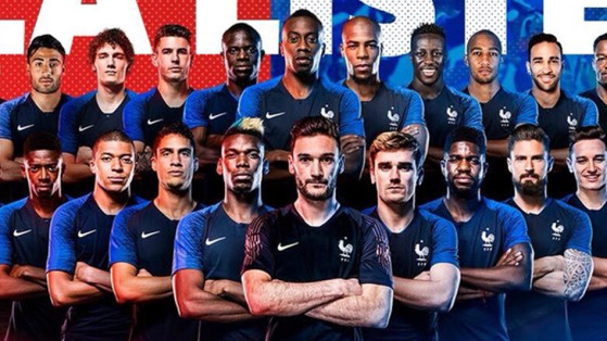 Coupe du monde quipe de france la liste de deschamps millenium - Liste des coupes du monde ...