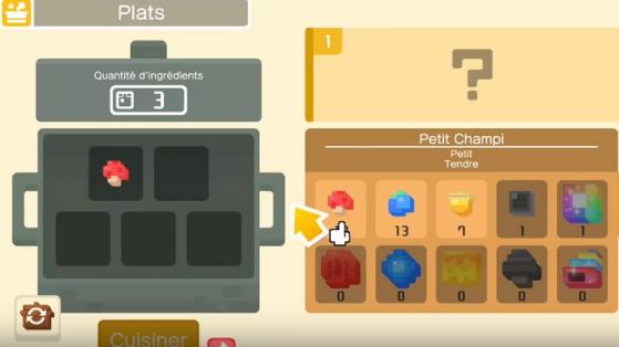 Pokémon Quest : la cuisine et débloquer tous les plats