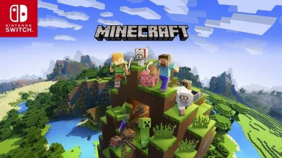 Test : Minecraft, patch crossplay (Switch)