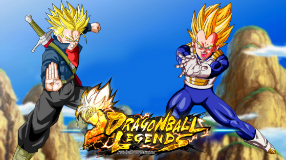 dragon ball legends vegeta super saiyan et trunks nouveaux