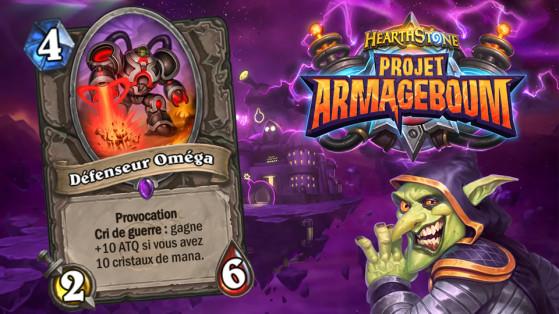 Hearthstone Projet Armageboum : Défenseur Omega (Omega Defender)