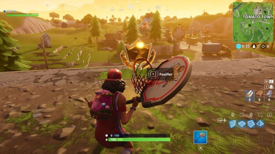 fortnite battle royale - carte au tresor de risky reels fortnite