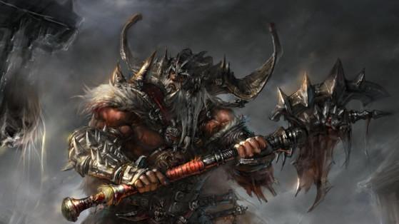 Diablo 3 : Build Barbare Support Trombe, guide, groupe