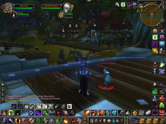 Interface énorme sur un écran de petite résolution: non - World of Warcraft
