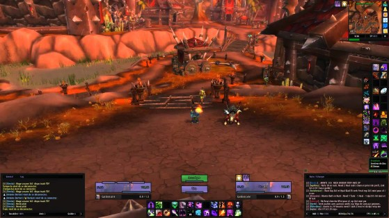 Interface minuscule sur un écran de grande résolution : non - World of Warcraft