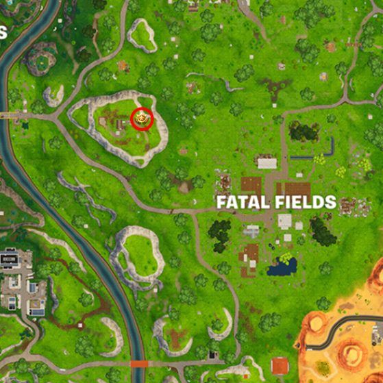 carte tresor flush factory Fortnite : défi, carte au trésor de Flush Factory   Millenium