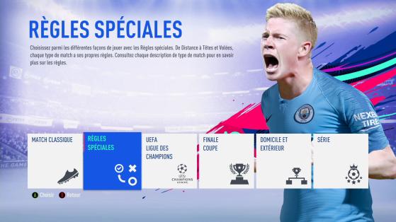 Règles spéciales - FIFA