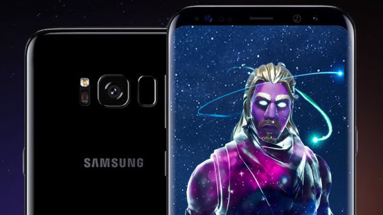 Fortnite : skin Galaxy offert sur Samsung Galaxy Note 9 et Galaxy