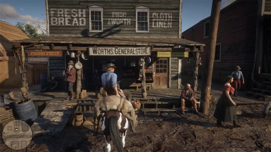 Guide Red Dead Redemption 2 : Boutiques, magasins