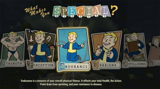 Guide Fallout 76 : Leveling S.P.E.C.I.A.L., progression