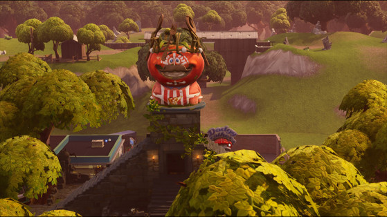 - fortnite follow the map in tomato town