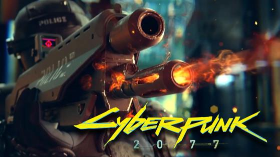 Armes Cyberpunk 2077 : Type, Module, lunette, amélioration, le guide complet