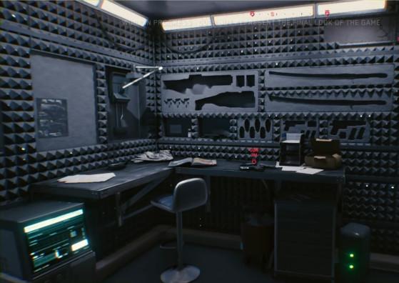 L'espace de stockage de votre appartement offre peut-être un indice sur les armes à venir : des katanas, des revolvers, des armes lourdes, ainsi que différents types de grenades. - Cyberpunk 2077