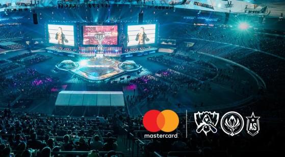 LoL : MasterCard devient le plus gros sponsor des Worlds 2018