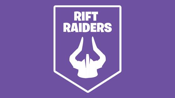 Fortnite : club Rift Raiders