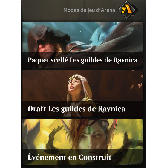 Quelques exemples... - Magic Arena