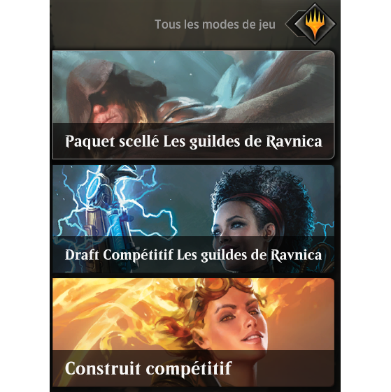 ...du visuel ingame - Magic Arena