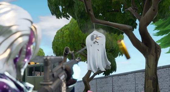 Fortnite : décoration de fantôme, les emplacements