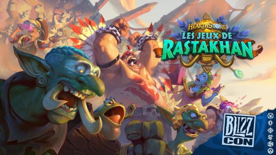 Hearthstone extension Les Jeux de Rastakhan : plateau de jeu