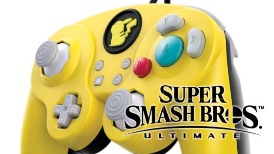 Manettes GameCube Pikachu pour Super Smash Bros Ultimate