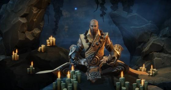 Diablo Immortal : Moine, monk, classe, build, skills, équipement