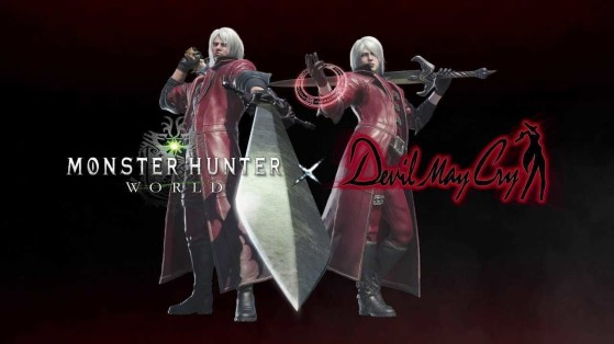 Monster Hunter World PC : Collaboration Devil May Cry, Dante, DMC