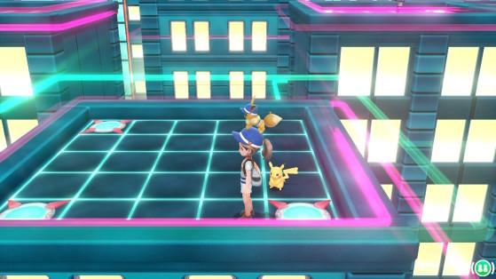 Départ - Pokémon Let's GO Pikachu et Évoli
