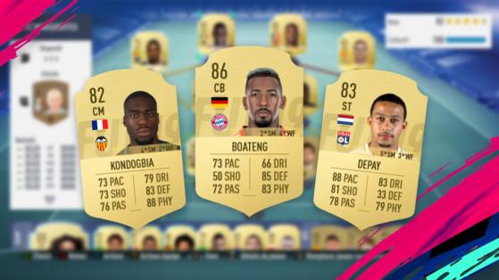 FIFA 19 : hybride FUT Champions, équipe pas chère