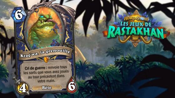 Hearthstone Jeux de Rastakhan : Krag'wa la Grenouille (Krag'wa the Frog)