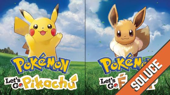 Pokemon Let's GO : obtenir toutes les tenues