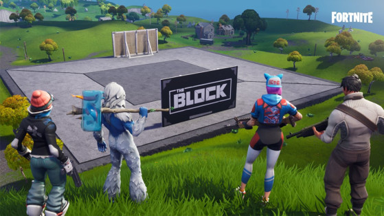 Fortnite : The Block, nouveau lieu