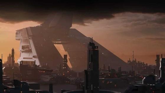 L'imposant Quartier-général de Hurston Dynamics - Star Citizen