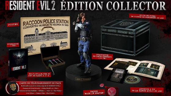 Resident Evil 2 : Edition Collector, précommande, bonus, PS4, Xbox One, PC