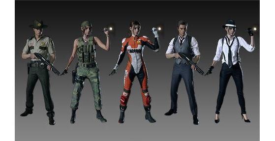 Les costumes spéciaux de la collector, de la deluxe et des DLC cosmétiques. - RESIDENT EVIL 2, BIOHAZARD RE:2