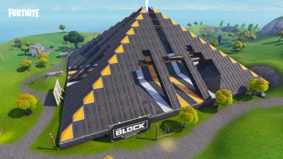 Plongez-vous dans cet impressionnant édifice construit par Directingpete pour tenter d'en découvrir les secrets. - Fortnite : Battle royale