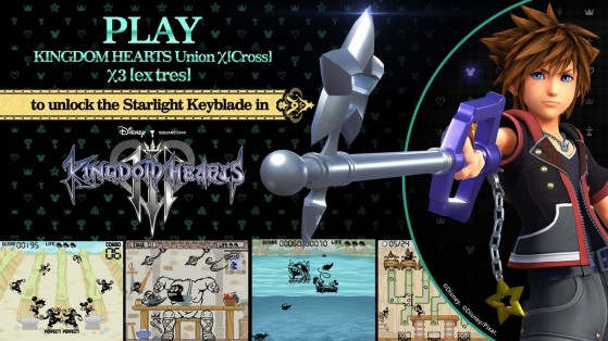 Guide Kingdom Hearts 3 : Obtenir la Keyblade Starlight