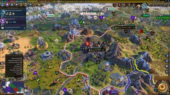 Les volcans sont le cadet de vos soucis, sauf si votre ville est mal placée. - Civilization 6
