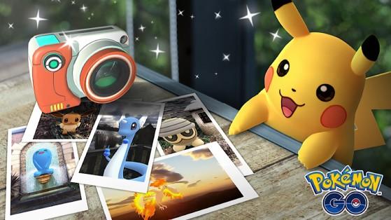 Pokémon Go : nouvelle fonctionnalité, Cliché Go