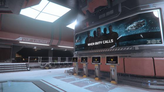 Le terminal principal du Spaceport - Star Citizen