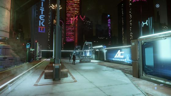 La station d'ArcCorp Plaza - Star Citizen