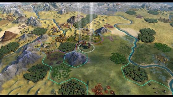 Civilization 6 : Environment skin Sid Meier's Civilization 5 - Millenium