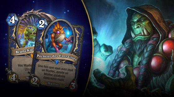 Hearthstone : deck Chaman Murlocs L'Eveil des Ombres (Rise of Shadows)