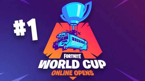 Fortnite World Cup : qualification en ligne, semaine 1 solo EU, résultats