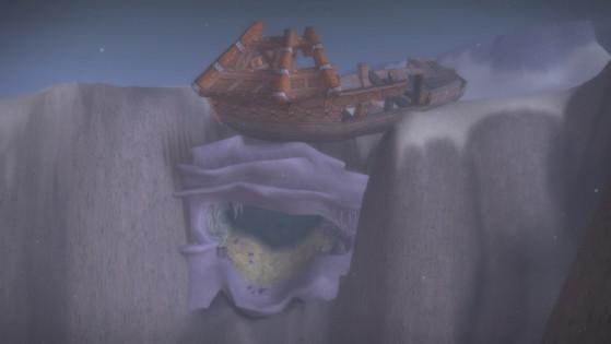 L'entrée de la grotte sous-marine des Erinyes azerothiennes - World of Warcraft