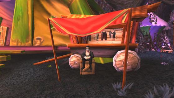 ... mais le chevalier de la mort avec son regard de givre et ses expériences impies - World of Warcraft