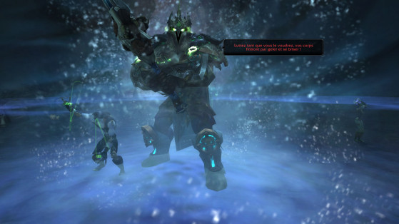 Le Chevalier Dess Métal jette un froid - World of Warcraft