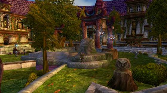Certes, le Parc n'était pas la zone la plus intéressante de Hurlevent, mais il y avait un Puits de Lune auprès duquel on pouvait flâner et se reposer sans que l'esprit des Kaldorei ne vienne nous raconter sa vie. - World of Warcraft