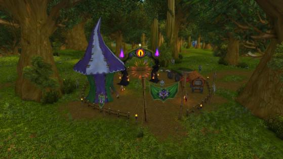 Alliance : Forêt d'Elwynn - World of Warcraft