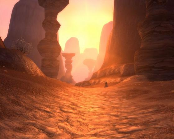 Je sais que vous l'attendez : le point coucher de soleil ! - World of Warcraft