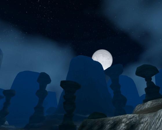 Evidemment que c'est beau, la zone ne peut pas avoir que des désavantages. - World of Warcraft